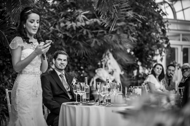 Elizabeth and Damien - Palm House, Sefton Park