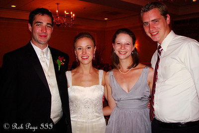 With the newlyweds - Norristown, PA ... October 9, 2011