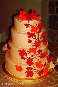 The wedding cake - Norristown, PA ... October 9, 2011 ... Photo by Rob Page III