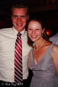 Enjoying the wedding - Norristown, PA ... October 9, 2011