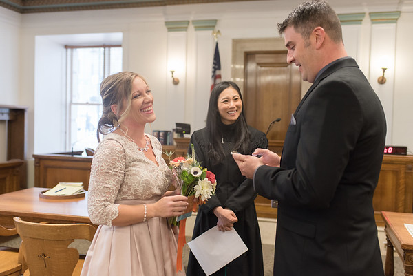 Downtown Denver Courthouse Elopement