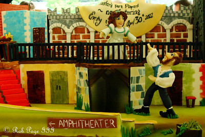The groom's cake - Asheville, NC ... April 30, 2011 ... Photo by Rob Page III