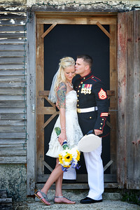 Breath taking.  Fitting way to end the 4th of July weekend...God bless all who serve (as well as their families) to provide us the freedom we all to easily take for granted!  Stay tuned for more of this amazing couple!