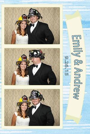 Emily and Andrew Wedding 2015