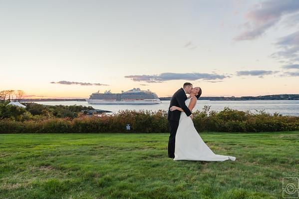 Emily & Matt Devin, Ocean Cliff Resort Newport RI