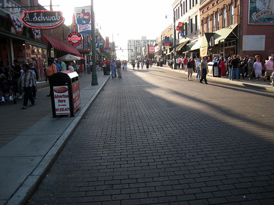 Beale Street in the daylight