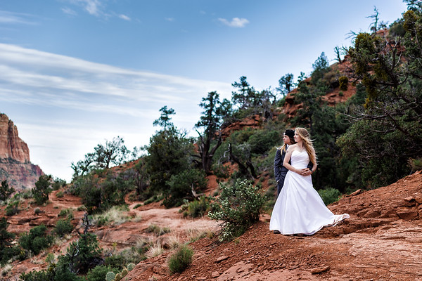 Emma and Sofia | Sky Ranch Lodge | Sedona Wedding