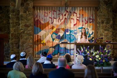 Emma Rafter's Bat Mitzvah at Beth Am in Los Altos, California. October 13, 2012.