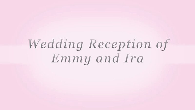 Wedding Reception of Ira and Emmy