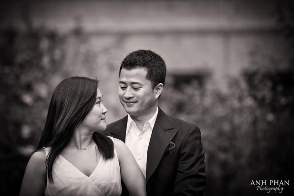 Engagement: Cathy + Bryan