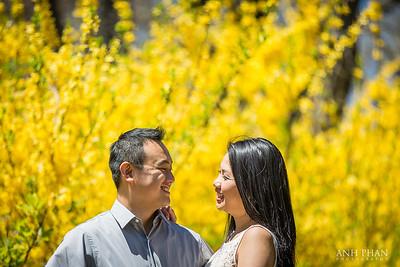 Engagement: Kim + Van
