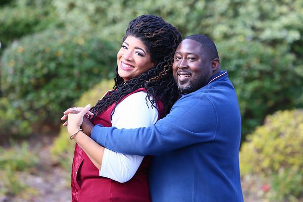 Cerise & Rob Engagement Photoshoot