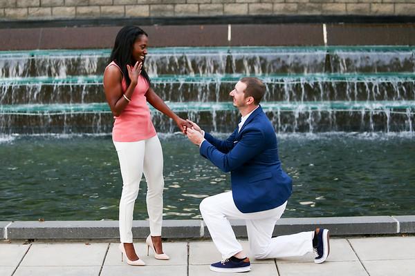 Davina & Micah's Engagement