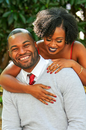 Sebrina & Chazelle's Engagement Photo shoot