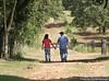 Brenda and Austin walk