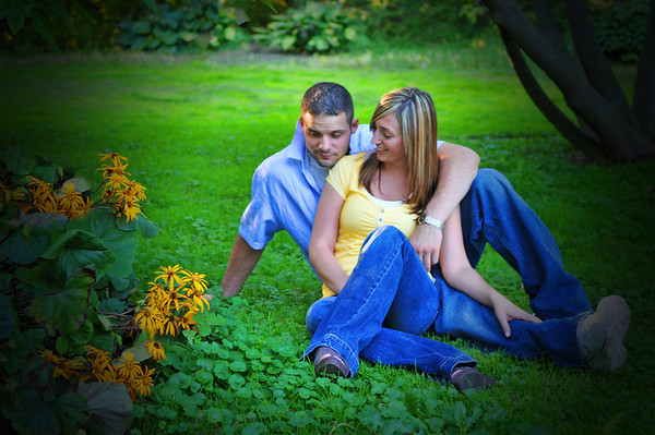 Christina and Adam engagement set. @Highland Park, Rochester Copyright © 2011 Alex Emes All rights reserved.