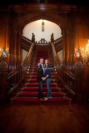 engagement photography Allerton Castle, North Yorkshire