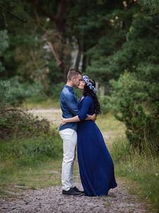 Caroline Andreas, gravid och test fotografering 21 augusti 2017