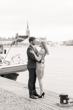 Cecilia och Eric Stockholm maj 2016