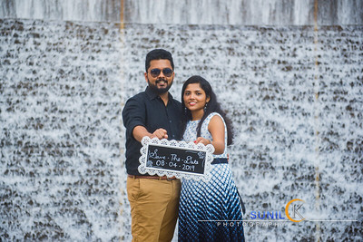 Nikhil Sharon Outdoor Engagement Shoot