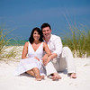 "Jenni & Adam's engagement photos in front of the Sandbar Restaurant where they have planned to have their wedding on Anna Maria Island.   <a href=""http://www.GrouperSandwich.com"">http://www.GrouperSandwich.com</a>  Photos by Dara Caudill  <a href=""http://www.IslandPhotography.org"">http://www.IslandPhotography.org</a> Chuck Caudill will perform the music at their wedding  <a href=""http://www.ChuckCaudill.com"">http://www.ChuckCaudill.com</a>"