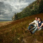 Seward Highway Engagement: Amanda & Matt by Joe Connolly