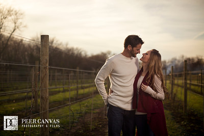 DC Estate Winery Engagement | Kadie + Chad