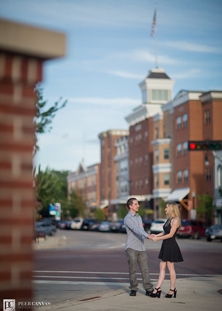 Downtown Beloit Engagement | Jennifer + Kevin