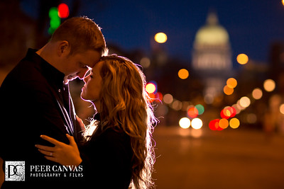 Madison Wisconsin Engagement | Alisha + Jordan
