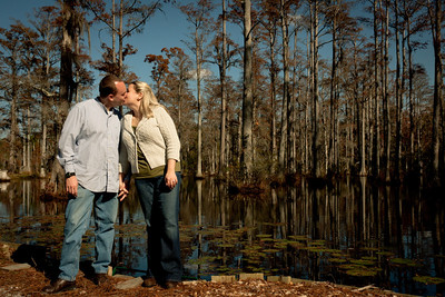Rosemary + Travis Cypress Gardens Engagement Photography