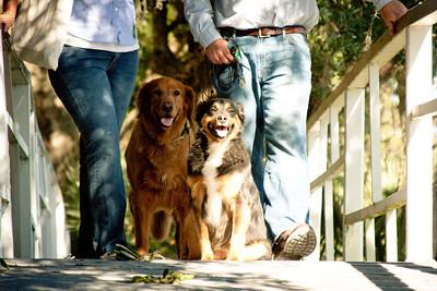 Virginia and Kyle tour Magnolia Plantation with Rhett and Baxter