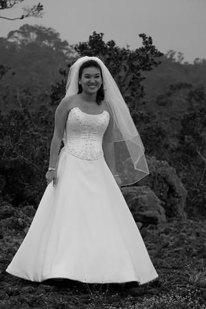 Bridal Party at Saddle Road
