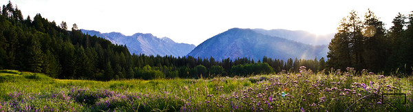 Panoramic Images near the Mountain Home Lodge in Leavenworth, Washington © Copyright m2 Photography - Michael J. Mikkelson 2009. All Rights Reserved. Images can not be used without permission.