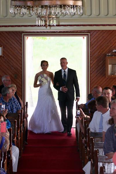 Erica & Ryan Anderson Wedding Ceremony