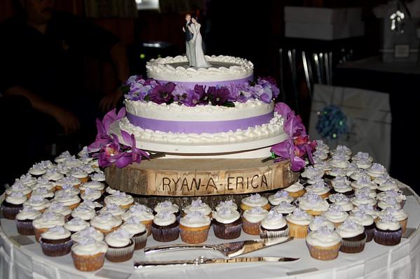 Erica & Ryan Anderson Wedding Dance & Cake