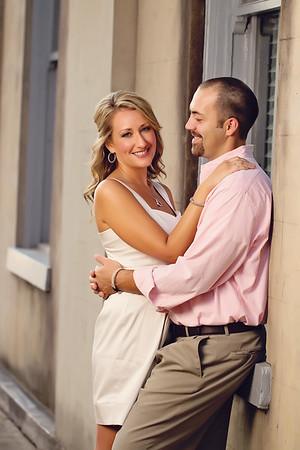 Erika and Barrett engagement.