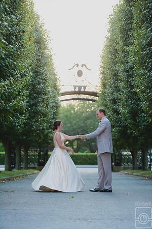 Erin & Dan Williams, Ochre Court Mansion, Newport RI