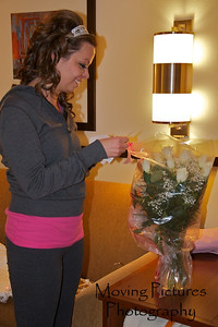 Erin & Evan Wedding - a bouquet for Erin
