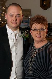 Erin & Evan Wedding - Evan with his mother