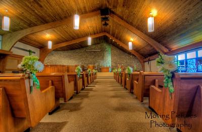 Scottsburg United Methodist Church - before guests arrived