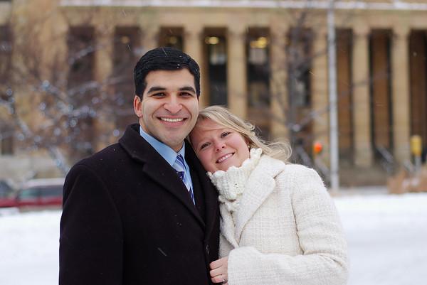 Erin and Mo at City Hall