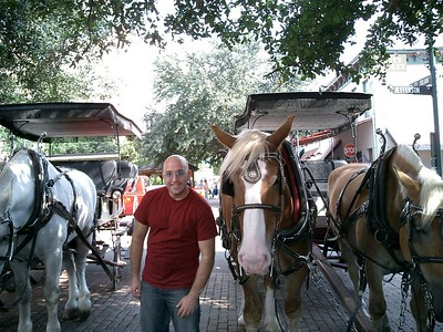 Mike and a Horse.