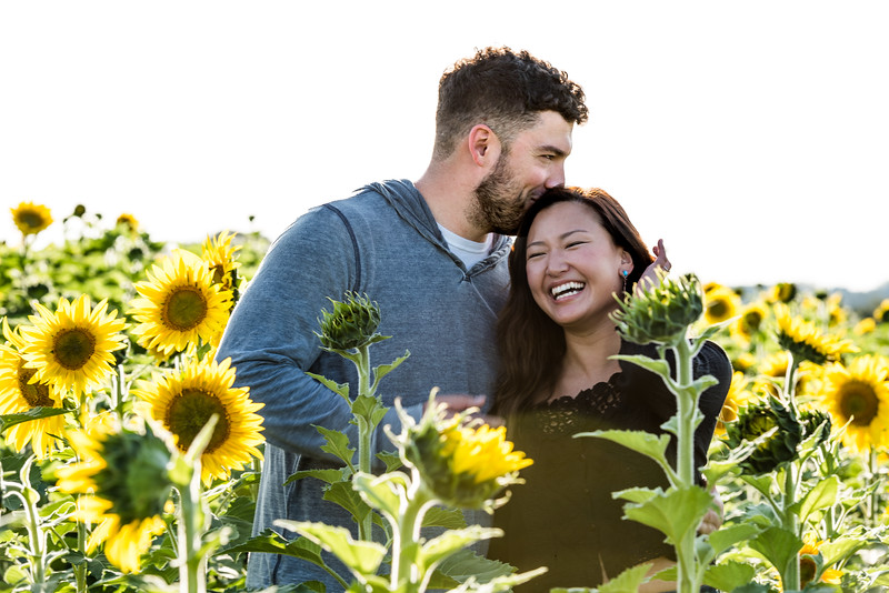 Esther and Frank Sunflowers 2019