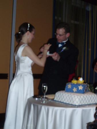 Eugene and Ginny's wedding