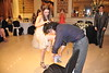 Carlos got the garter, and weasked him to put it on Mayte's leg :)<br /> ~Eva~