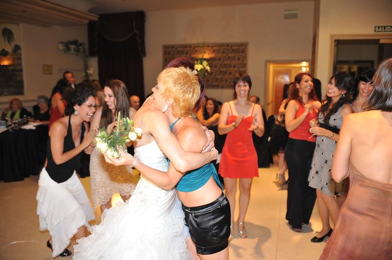 My friend Melina got the bouquet :)<br /> ~Eva~