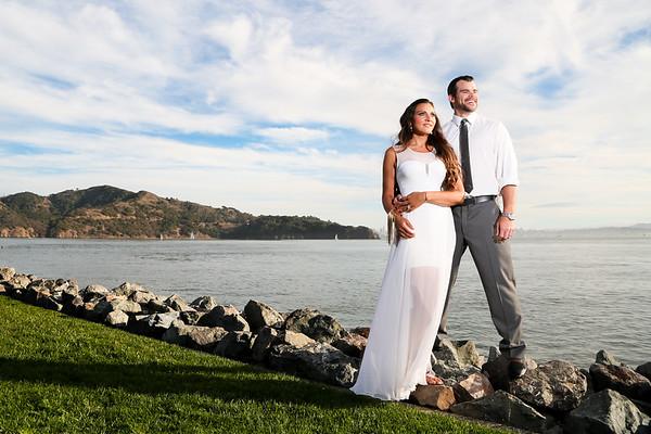 Evy and James' Tiburon Wedding