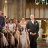 and there she is! Bride and her dad walking down the aisle - wedding photojournalism