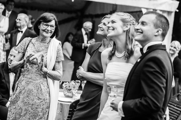Momentaufnahme: die ganze Familie. Hochzeitsreportage Potsdam