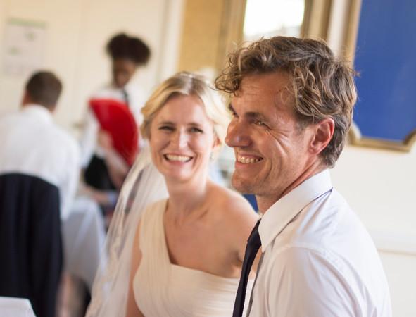 Hochzeitsreportage: Braut und Bräutigam